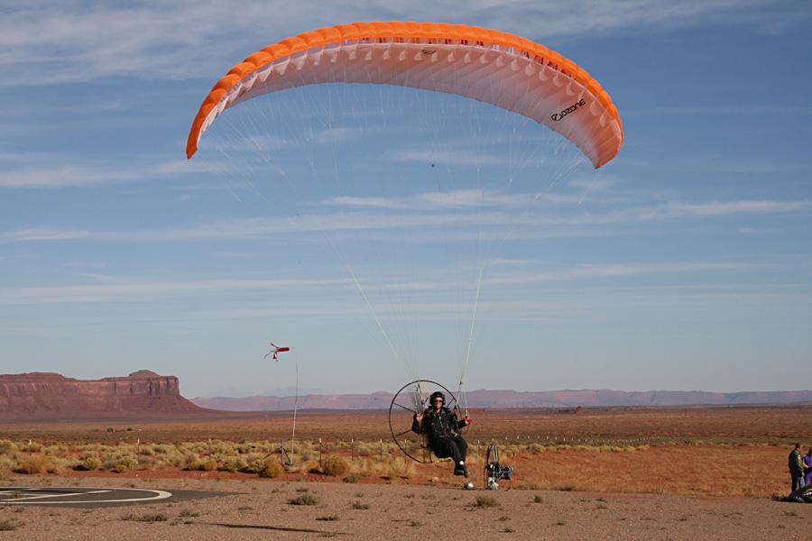Miniplane Paramotor, Mini-Plane Powered Paraglider, Top 80