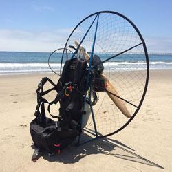 Miniplane Minari Paramotor, Mini-Plane Powered Paraglider, Minari
