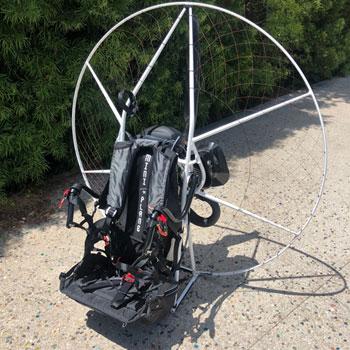 Miniplane Moster Plus Paramotor, Mini-Plane Vittorazi Moster Plus