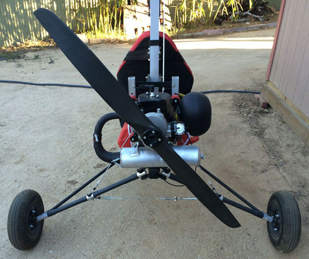 ATF Soaring Trike, Ultralight Aircraft using the Top 80