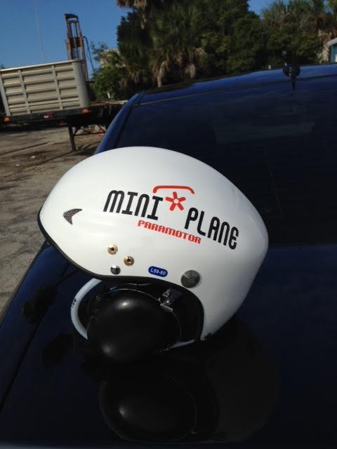 I LOVE FLYING: Vinyl Miniplane car - truck - trailer stickers