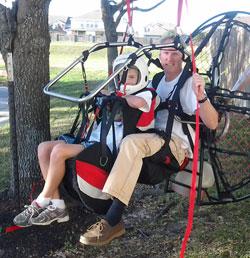 Miniplane Paramotor, Mini-Plane Powered Paraglider, Top 80 Motor